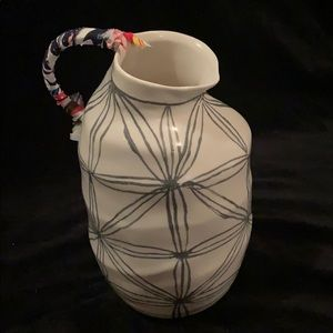 Ceramic Pitcher From Anthropologie